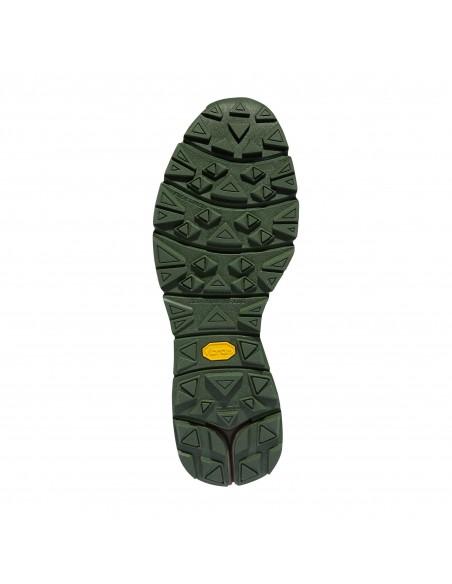 Danner Mountain 600 4.5 Tmavá Hnedá Zelená Turistické Topánky Zospodu