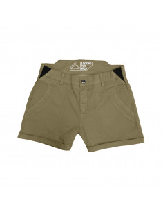 Looking For Wild Womens Technical Shorts Bavella Boa Offbody Front