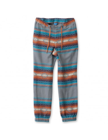 KAVU Mens Pants Staycation Moody Blue Offbody Front