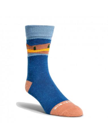 United By Blue Ponožky Novelty SoftHemp Midnight Námornícka Farba 1