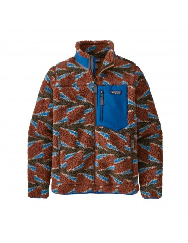Patagonia Womens Classic Retro-X Jacket Take Root Burnished Red Offbody Front