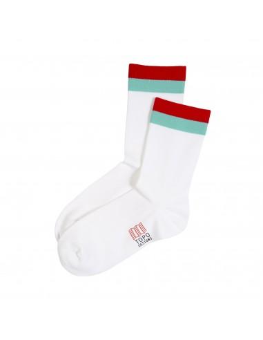 Topo Desings Športové Ponožky Biela Offbody
