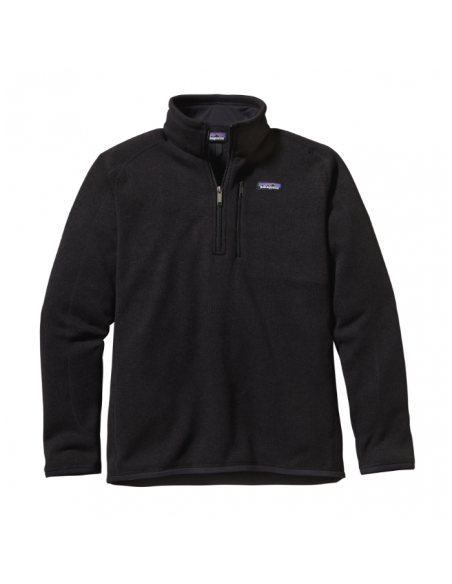 Patagonia Pánsky Fleecový 1/4 Zips Sveter Better Sweater Čierna Offbody