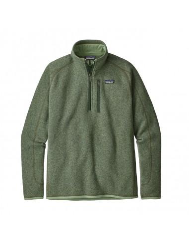 Patagonia Pánsky Fleecový 1/4 Zips Sveter Better Sweater Matcha Zelená Offbody