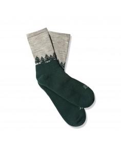 Danner Midweight Socks Turistické Ponožky Sivá Zelená