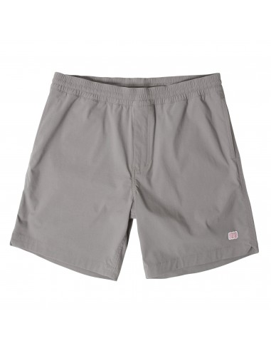 Topo Designs Mens Global Shorts Slate Offbody Front
