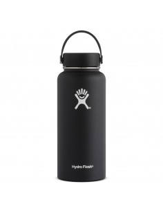 Hydroflask 32 oz Flask Wide Mouth Black