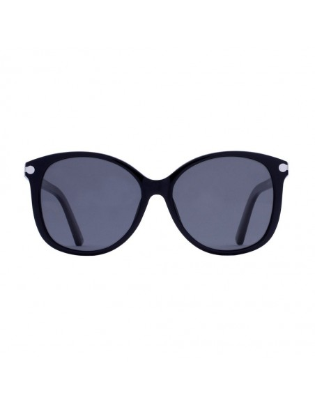 Ovan Slnečné Okuliare LOFN Čierna Spredu