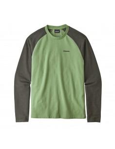 Patagonia Pánska Ľahká Mikina P-6 Logo Lightweight Crew Sweatshirt Matcha Zelená Offbody Spredu