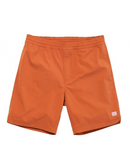 Topo Designs Mens Global Shorts Clay Offbody Front