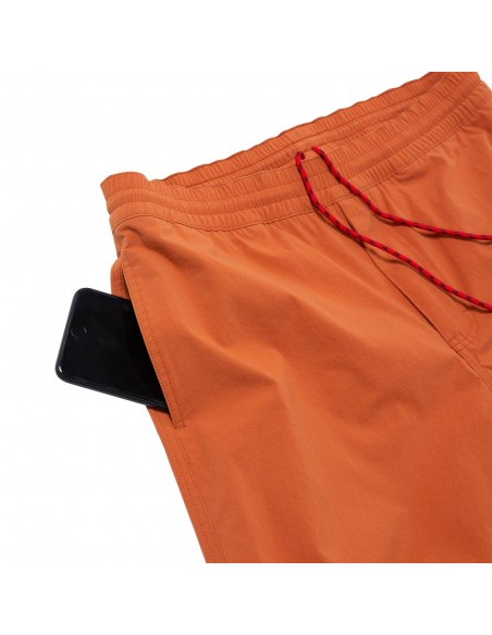 Topo Designs Mens Global Shorts Clay Offbody Detail 3