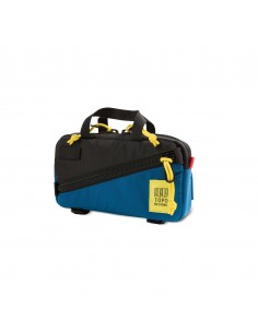 Topo Designs Mini Quick Pack Black Blue Side