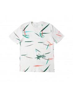 Topo Designs Turistické Tričko Naturálna Biela Offbody Spredu