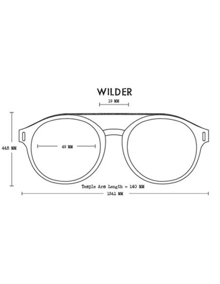 Proof Slnečné Okuliare Wilder Eco Matná Čierna Sivá Design