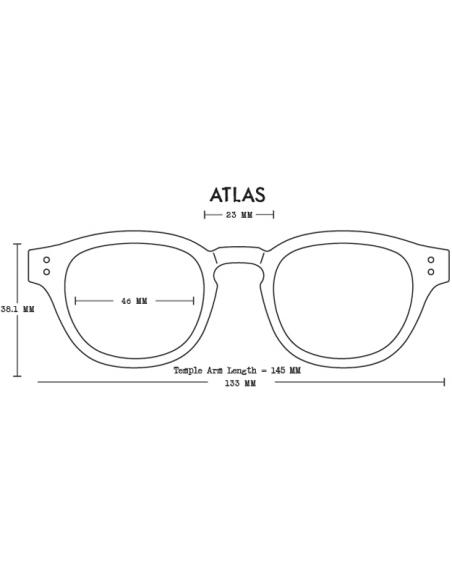 Proof Slnečné Okuliare Atlas Eco Jantárová Hnedá Polarizované Spredu Offbody Dizajn