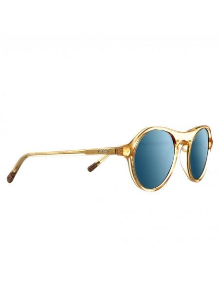 Proof Slnečné Okuliare Midway Eco Medová Belasé Zrkadlovky Polarizované Uhol 1 Offbody