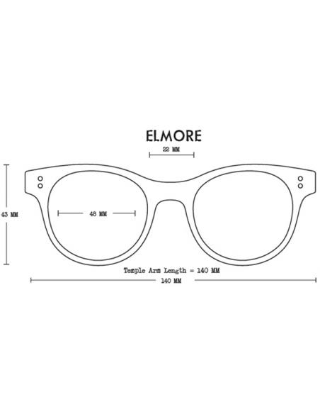 Proof Slnečné Okuliare Elmore Eco Kryštálová Broskyňová Polarizované Spredu Dizajn