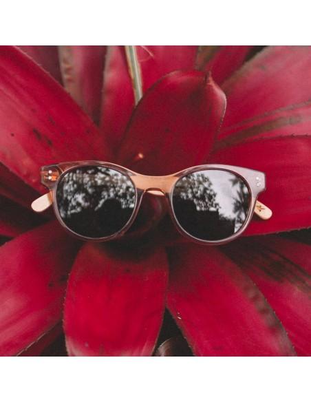 Proof Slnečné Okuliare Elmore Eco Kryštálová Broskyňová Polarizované Štýl Offbody