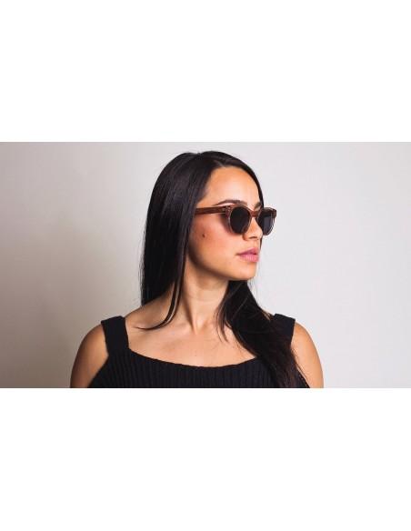 Proof Slnečné Okuliare Elmore Eco Kryštálová Broskyňová Polarizované Uhol 2 Onbody