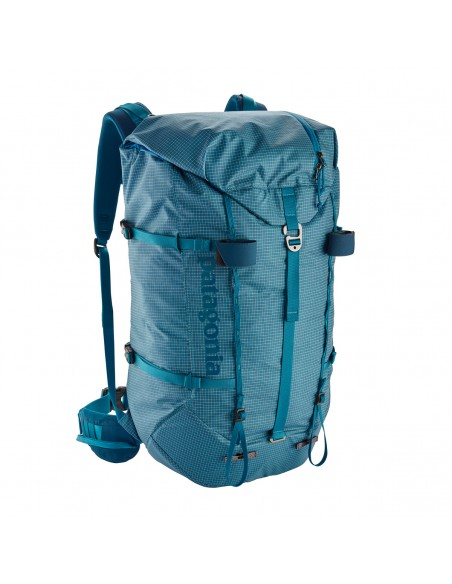 Patagonia Backpack Ascensionist 40L Balkan Blue Front