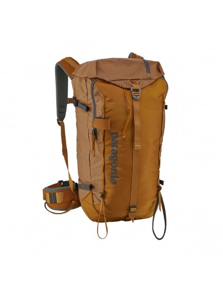 Patagonia Backpack Descensionist Pack 32L Hammonds Gold Front