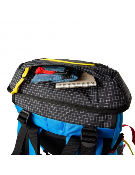 Topo Designs Subalpine Pack Blue Offbody Details 4