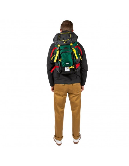 Topo Designs Subalpine Pack Green Onbody Front