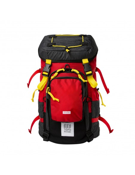 Topo Designs Subalpine Pack Red Offbody Front