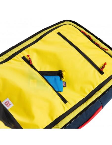 Topo Designs Travel Bag 40L Navy Offbody Details