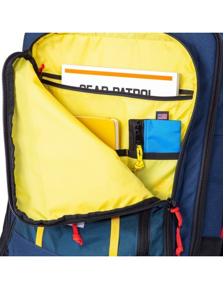 Topo Designs Travel Bag 40L Navy Offbody Details 3