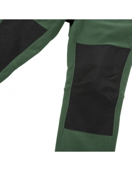 Topo Designs Mens Fleece Pants Forest Black Offbody Detail