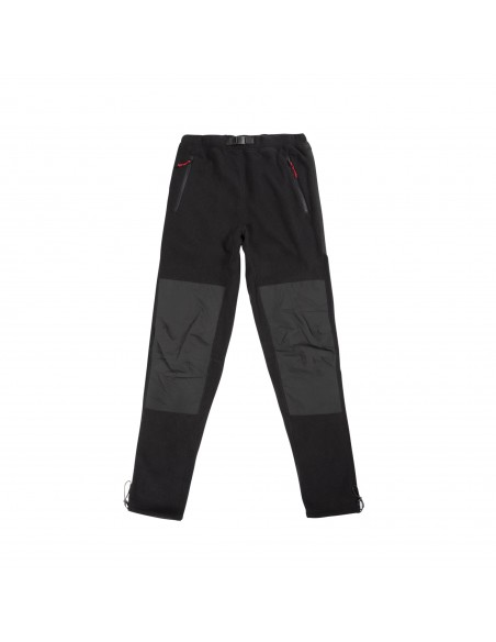 Topo Designs Mens Fleece Pants Black Offbody Front