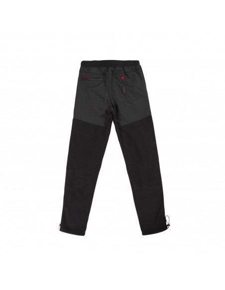 Topo Designs Mens Fleece Pants Black Offbody Back