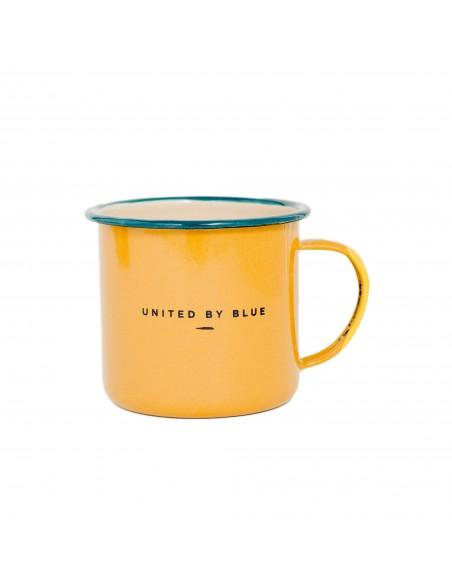 United by Blue Pack Smaltovaný Oceľový Hrnček Up & Go 22 oz Zozadu