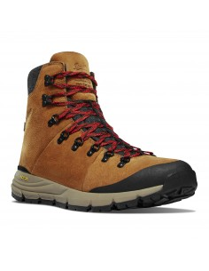 Danner Arctic 600 Side Zip 7 Brown Red Shoes Front
