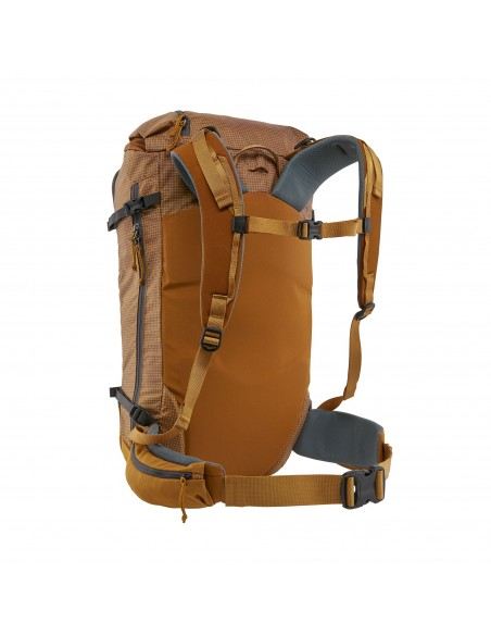 Patagonia Backpack Descensionist Pack 32L Hammonds Gold Back