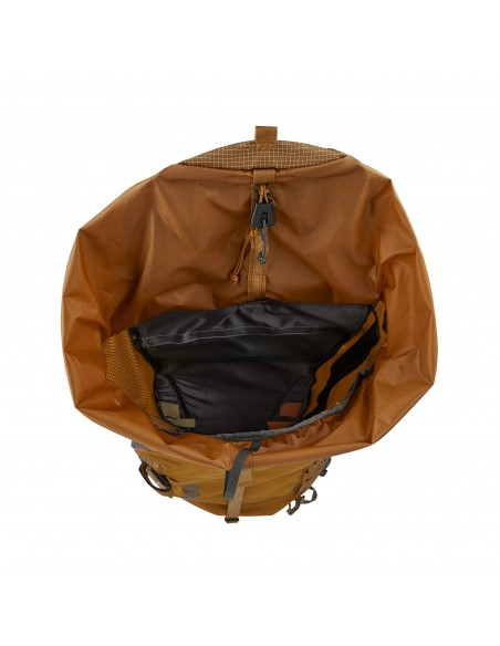 Patagonia Backpack Descensionist Pack 40L Hammonds Gold Open