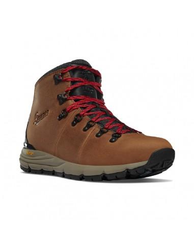 Danner Mountain 600 4.5 Hnedá Červená Turistické Topánky Spredu