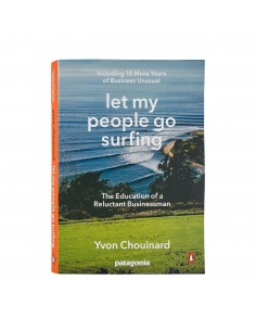 Patagonia Kniha Let My People Go Surfing Obal Spredu