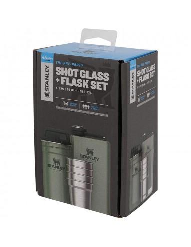 Stanley Darčekový set Adventure Gift Set - 4 Steel Shots & Flask Balenie Uhol