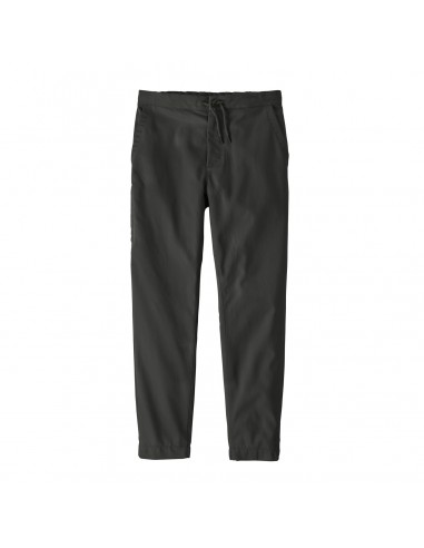 Patagonie Mens Twill Traveler Pants Black Offbody Front 2