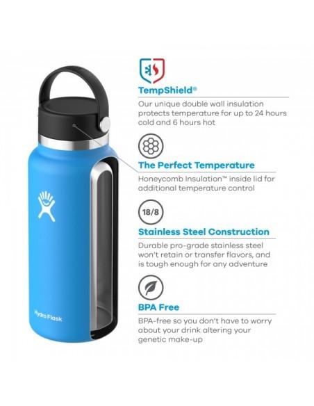 Hydroflask 32 oz Termoska so širokým hrdlom Dizajn