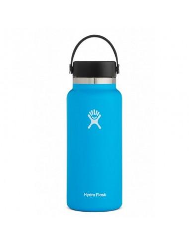 Hydroflask 32 oz Termoska So Širokým Hrdlom Verzia 2.0 Modrá