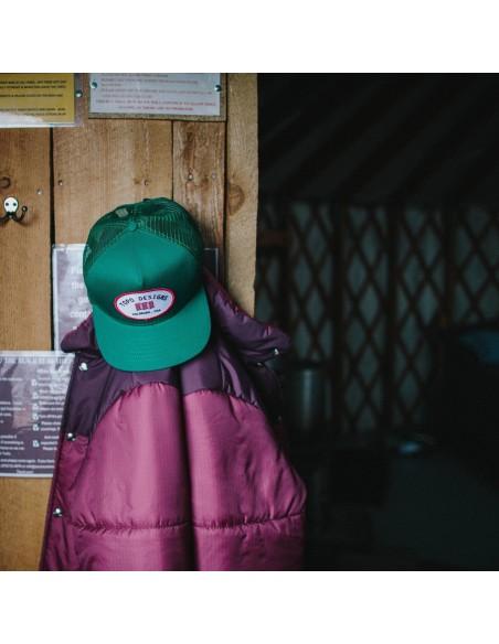 Topo Designs Snapbacková Čiapka Zelená Offbody Štýl 2