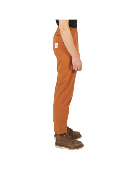Topo Designs Womans Boulder Pants Orange Onbody Side