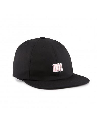 Topo Designs Šiltovka Mini Map Hat Čierna Offbody Uhol