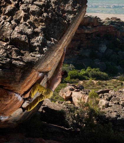 Oliver Vysloužil: Bouldering challenges you to get creative while rock climbing